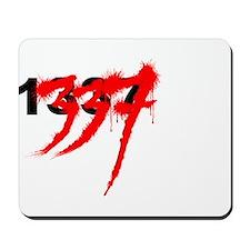 1337 red hue Mousepad