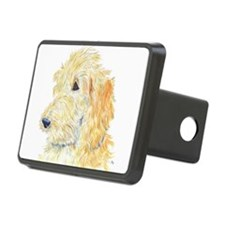 Cream Labradoodle 1 Hitch Cover