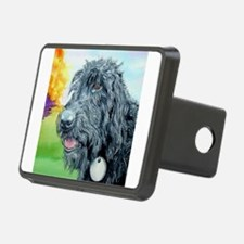 Black Labradoodle 5 Hitch Cover