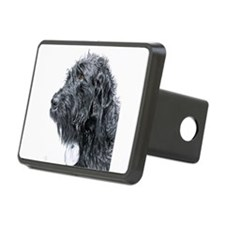 Black Labradoodle 4 Hitch Cover
