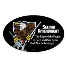 The Second Amendment Decal