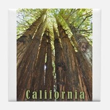 Funny Hollister california Tile Coaster