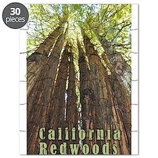 Cute Redwoods california Puzzle