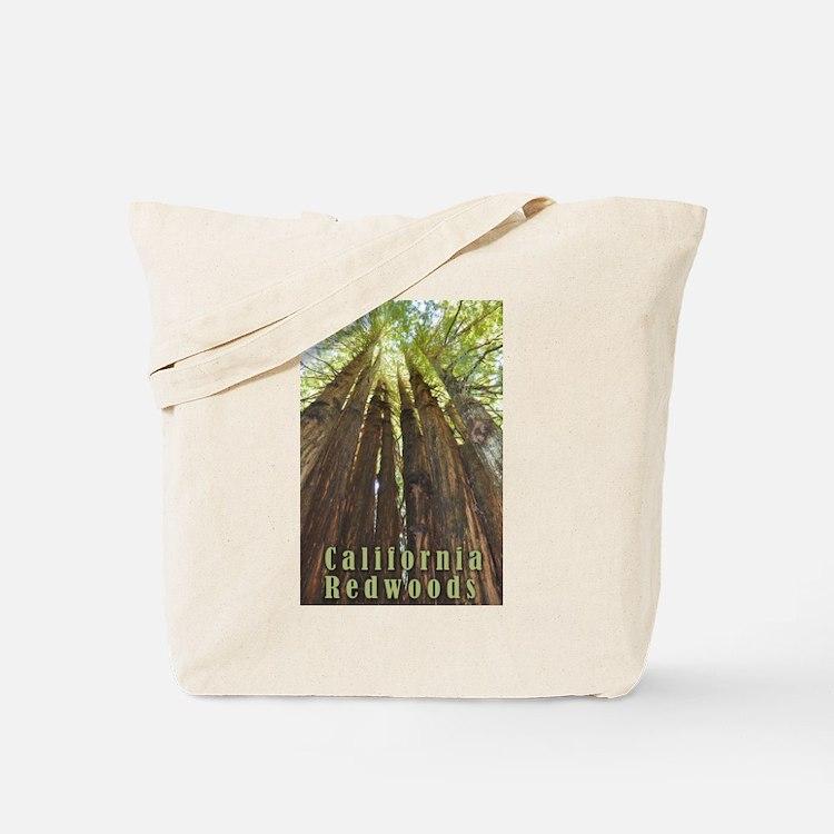 Cute Redwoods california Tote Bag