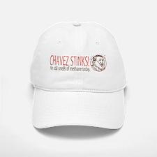 Chavez Stinks Cartoon Baseball Baseball Cap