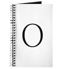 Greek Letter Omicron Journal