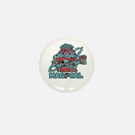Magical Shrooms Mini Button (100 pack)