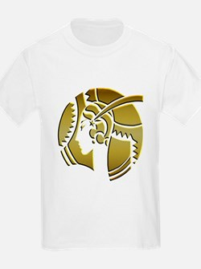 Golden Art Deco Lady T-Shirt