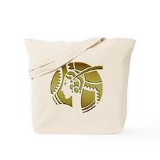 Golden Art Deco Lady Tote Bag