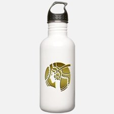 Golden Art Deco Lady Water Bottle