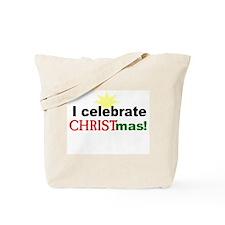 Celebrate CHrist Tote Bag