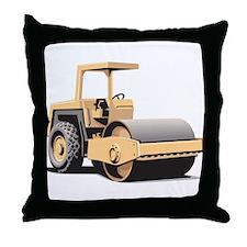 Paving Machine Throw Pillow