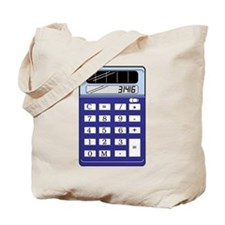 Calculator Tote Bag