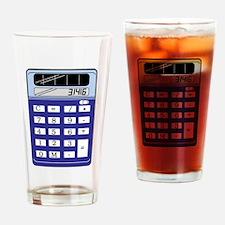 Calculator Drinking Glass