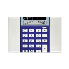 Calculator Rectangle Magnet