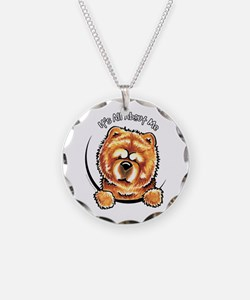 Chow Chow IAAM Necklace