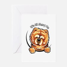 Chow Chow IAAM Greeting Cards (Pk of 10)