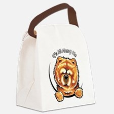 Chow Chow IAAM Canvas Lunch Bag