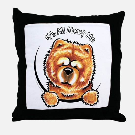 Chow Chow IAAM Throw Pillow