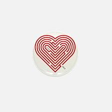I Love Leila Mini Button