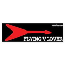 Flying V Lover Bumper Bumper Sticker
