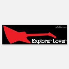 Explorer Lover Bumper Stiker