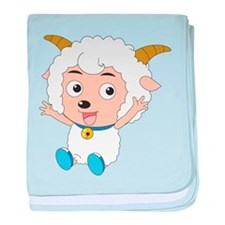 Baby Goat baby blanket