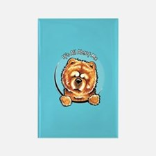 Chow Chow IAAM Rectangle Magnet
