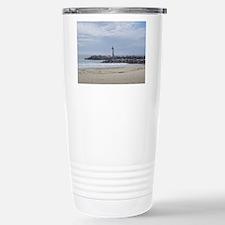 Twin Lakes Beach Lighthouse Travel Mug
