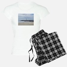Twin Lakes Beach Lighthouse Pajamas