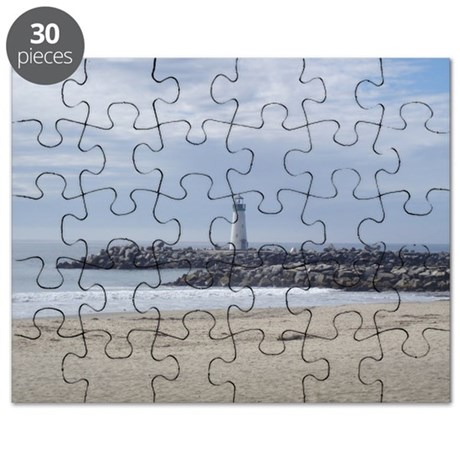 Twin Lakes Beach Lighthouse Puzzle