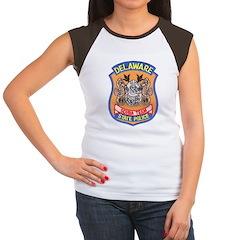 Delaware State Police Scuba T Women's Cap Sleeve T