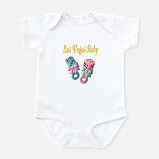 Las Vegas Baby Dice Rattles Infant Bodysuit