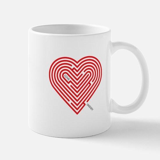 I Love Lindsey Mug