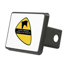 Save a horse ride a cav scout Hitch Cover