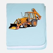 Earth Mover baby blanket