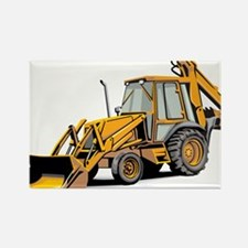 Earth Mover Rectangle Magnet