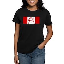Anarchy Canada Flag Tee