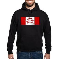 Anarchy Canada Flag Hoodie