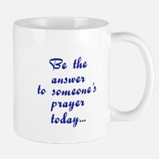 Be an answer plain Mug