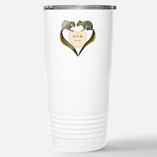 Love Squirrels Stainless Steel Travel Mug