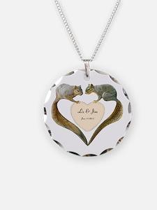 Love Squirrels Necklace