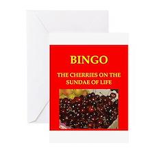 bingo Greeting Cards (Pk of 20)