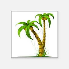 Cocunut Tree Sticker