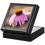 pink echinacea flower Keepsake Box