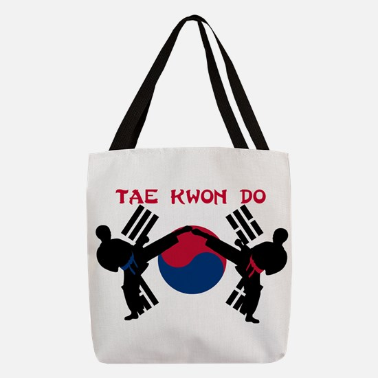 Tae Kwon Do Polyester Tote Bag