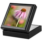 pink echinacea Keepsake Box