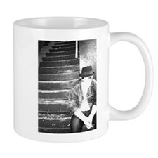 Hipster on the Stairs Mug