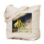 yellow echinicea serenity Tote Bag