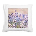 pretty lavender Square Canvas Pillow